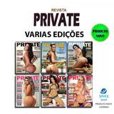 Revista Private Sexy 2013 Ate 2017 Varias Ed Novas Lacradas