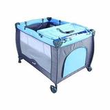 Cuna De Viaje Sweet Dreams Azul Safety First Nuevo Msi