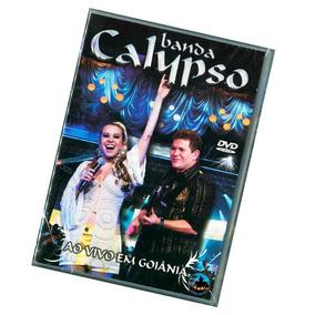 Dvd Banda Calypso - Ao Vivo Em Goiânia ( Dvd Novo E Lacrado)