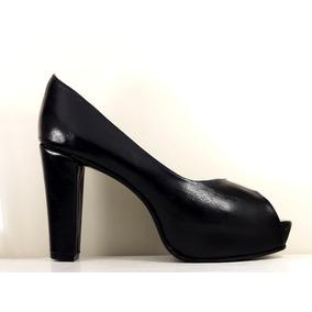 Zapatos Mujer Plataforma Oculta Boquita Pez Nª43,5