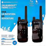 Rádio Motorola Talkabout T460mc Até 56km Walk Talk Lacrado