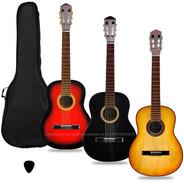 Guitarra Criolla Clasica Calidad Superior Funda Pua Manual