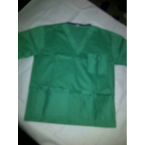 Bata De Mono Quirúrgico Unisex Talla M Y L. Color Verde. Ac