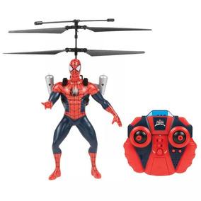 Brinquedo Boneco Homem Aranha Spider-man Helicóptero