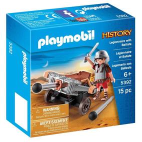 5392 Playmobil History - Soldado Romano Com Besta