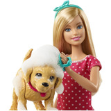 Barbie Splish Splash Pup Baña A Su Perro Con Accesorios
