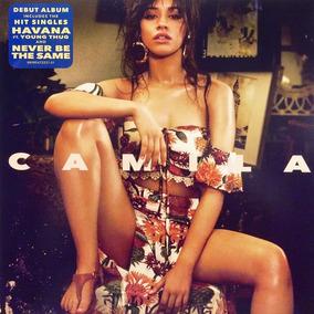 Camila Cabello Disco Lp Camila Aleman Rojo C/letras Nuevo