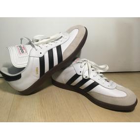 Chuteira Adidas Copa Mundial Samba Branca 42 Primeira Linha ... c60ac0822b841