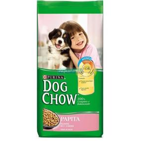 Ração Dog Chow Papita Filhotes 15kg - Frete Grátis