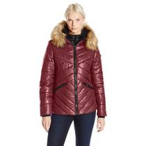 Abrigo Dama Chamarra Quilted Acolchonada Polar Termica Frio
