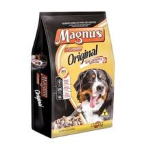Ração Magnus Original Premium Cães Adultos 15kg Sem Corantes