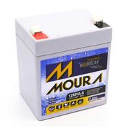Bateria Nobreak Vrla Sms/apc/tsshara 12v 5ah Moura
