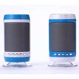 Caixa Som Portátil Led Bluetooth Pen Drive Sd Fm Celular 10w