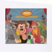 Titeres De Dedo De Animales -  Pack Por 10 Unidades