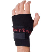 Muñequera Con Dedo Abrojo Gimnasio Pesas Body Therm