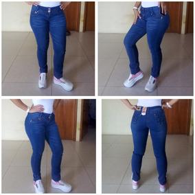 Pantalon Jeans Damas Strech Levantacola Moda Calidad Remate