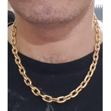Corrente De Ouro Masculina 18k 750 Com Certificado Eterno