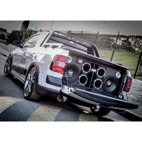 Auto Falante Eros 10000w Rms + Caixa Completa