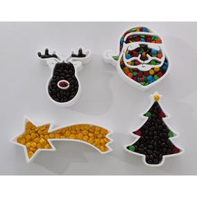 Kit Mesa Navideña Navidad Adornos Carameleras Palydeco
