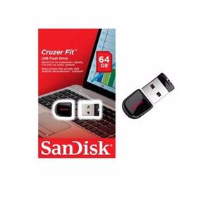 Pendrive Sandisk 64gb Fit 2.0 Usb Z33