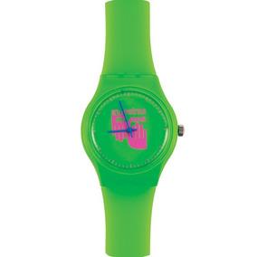 Reloj En Nuestras Manos Verde F/rosa