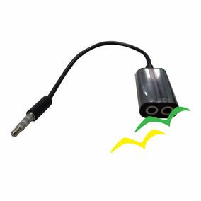 Cabo Adaptador Duplicador Audio Fone De Ouvido 2 Saídas P2