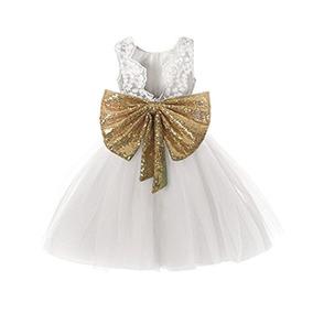 Vestido Para Niñas Ivory Bodas Fiestas Comunion Fkkfyy