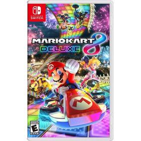 Jogo Mario Kart 8 Deluxe Nintendo Switch Mídia Lacrado