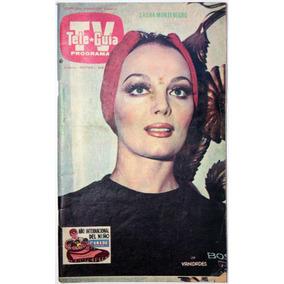 Tele Guia # 1400 Sasha Montenegro Poster De Misses 1978