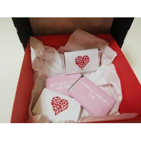 San Valentin Dia Enamorados Chocolate Personalizado Orginal