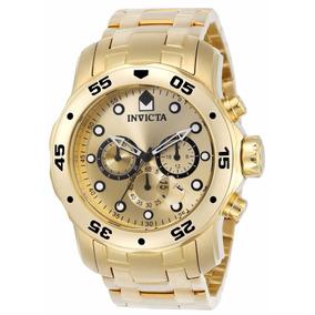 171ae70547a Relógio Invicta Pro Diver Dourado Masculino - Joias e Relógios no ...