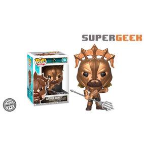 Funko Pop Aquaman Arthur Curry Como Gladiador (1)
