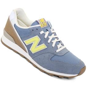 Tenis New Balance Wr996h - Azul Cielo Y Blanco