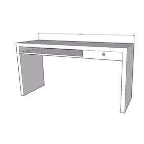 Escrivaninha Em Madeira De Demolição 160cm X 50cm X 80xm