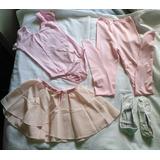 Ballet: Conjunto/uniforme Completo De Niña