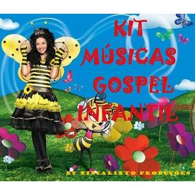 Kit 80 Músicas Gospel Infantil