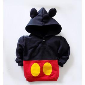 Agasalho Moletom Baby Mouse (mickey) - Tamanho M Até 4 Anos