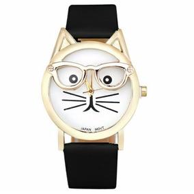 Reloj De Gato Orejas Y Lentes Moda 2017 Envio Gratis