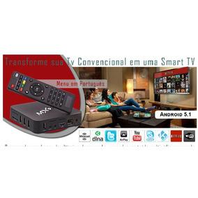 Tv Box Smart Android Mx9+2 Teclado Sem Fio