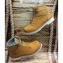 Zapato Para Dama Bota Deportiva Color Miel Mostaza De Moda