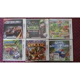 Luigi Mansion, Mario Tennis, Zelda Tri, Juegos Sellados 3ds