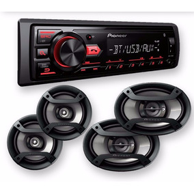 Stereo Pionner Radio Auto Bluetooth Parlantes Mxt-2969