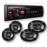 Stereo Pionner Radio Auto Bluetooth Parlantes Mxt-2969