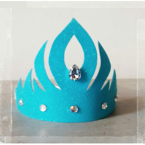 10 Coronas Vinchas Souvenir Princesa Rey Reina Goma Eva