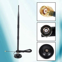 Antena Roteador Wifi Cabo Base Imã Tp-link D-link 22 Dbi Sma