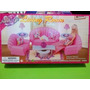 Set Barbie Gloria Sala De Estar Abanico Linving Room