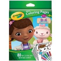 Crayola Doctora Juguetes Mini Colorear