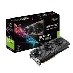 Placa De Vídeo Strix Rog Geforce Gtx 1070 8gb Gaming