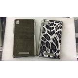 Case Tpu + Película Plástico Celular Motorola Ex118 E Ex119