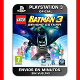 Lego Batman 3 Beyond Gotham Ps3 : Digital : Elegi Reputacion